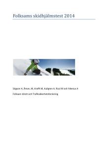 Test av skidhjälmar - fullständig rapport