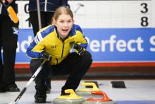 Curling Junior-VM: Lag Wranå är klara för semifinal. Killarna i lag Magnusson tog viktig seger mot Ryssland.