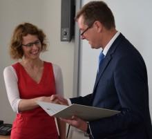 Professorin Sandra Haas auf neue Professur am Fachbereich Wirtschaft, Informatik, Recht (WIR) berufen