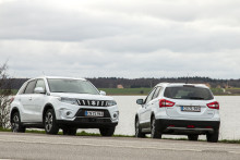 Suzuki Vitara og S-Cross med hybridteknologi
