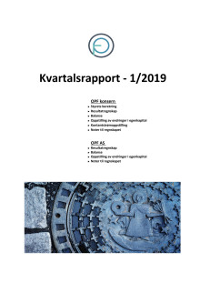 OPF kvartalsrapport Q1 2019