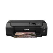 Meet the Canon imagePROGRAF PRO-300 – a high-quality, professional A3+ photo printer with space-saving design