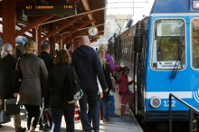 Belöningar ökade resandet i kollektivtrafiken