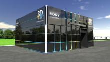 L'expérience de la 3D par Sony au FIFA FAN FEST