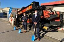Lichtgeschwindigkeit für Unternehmen in Borken: Glasfaserausbau in Gewerbegebieten startet