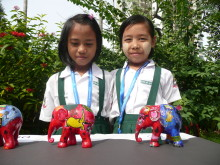 The Asian Elephant Foundation and Elephant Parade come to Yangon
