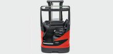 Nyhet från World of Material Handling - 20 modeller skjutstativtruckar