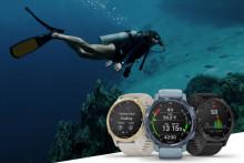 Smarter GPS-Tauchcomputer im schlanken Design: die neue Garmin Descent Mk2S
