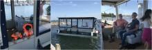 Indvielse af ny udflugtsbåd på Ærø