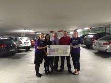 Over €25,000 raised for Children's Hospital Charity through parking parternship