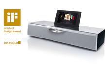 Helt enkelt: Flot design! - iF gold award 2012 går til: Loewe SoundVision