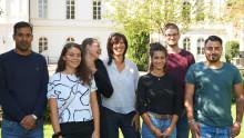 Europeiska volontärer på våra fritidsgårdar