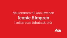 Välkommen till Aon Jennie Almgren!