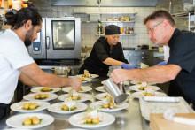 Trängselkontrollerna på serveringar i Kungsbacka är prioriterat