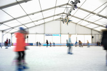 Positive Halbzeitbilanz zum Stadtwerke Eisfestival in Kiel
