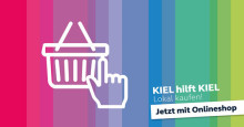 KIEL hilft KIEL geht mit zentralem Onlineshop Kauf.lokal an den Start