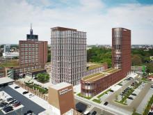ZÜBLIN building approx. 70 m high office tower for Volksbank in Braunschweig