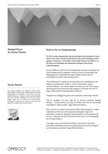 Offecct Press release Spiegel Panel by Verner Panton_SE