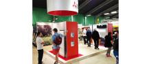 Mitsubishi Electric på Hem & Villa mässan