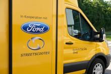 Ford og Deutsche Post præsenterer den elektriske varebil Streetscooter WORK XL