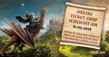 MagicCon 2018: Online-Ticket-Shop schließt am 11.03.2018