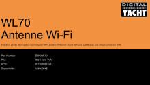 Digital Yacht WL70 - Nouvelle solution abordable de WiFi à bord