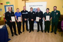 Awards ceremony recognises bravery of police officers and the public on the Isle of Wight.