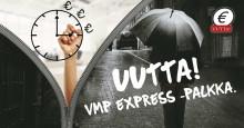 Palkka tilille huomiseksi – VMP Express -palkka!