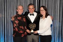 Guldhjärtat 2019 tilldelades Therese Pettersson, Ivan Rosengren och Sara Warnquist