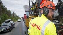 Svevia förbättrar trafiksäkerheten på E45 mellan Skarvsjöby och Storuman
