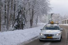 Taxi Göteborg bidrar till säkra vägar i vinter