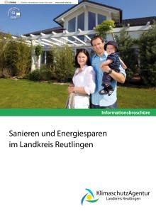 Broschüre Sanierung & Modernisierung im Landkreis Reutlingen