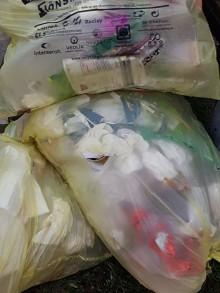 Entsorgung von Hygieneartikeln in den gelben Säcken führt zu einem erhöhten Infektionsrisiko