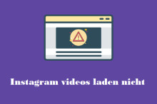 Gelöst – Instagram Videos spielt nicht ab (2020)