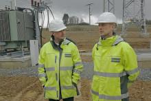 Umspannwerk-Neubau in Naila liegt im Zeitplan