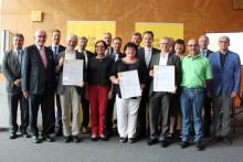 Bürgerenergiepreis Unterfranken 2017 verliehen