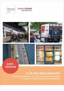 20 år med Øresunddirekt!