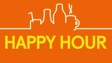 Happy Hour i bistron på SJs tåg