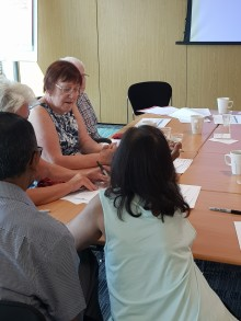 More over 65s are encouraged to 'Ask-Annie' for help planning their journeys