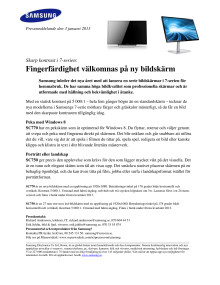 Skarp kontrast i 7-serien: Fingerfärdighet välkomnas på ny bildskärm