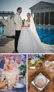 Joachim Rønning og Amanda Hearst valgte norsk servise til bryllupsbordet