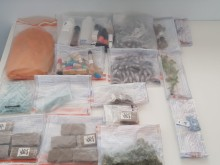 Police seize large drugs and cash haul in Brighton
