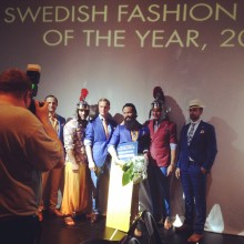 Castor Pollux får pris av Peugeot som Swedish Fashion Talent 2014
