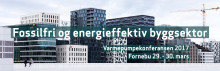 Varmepumpekonferansen: Fossilfri og energieffektiv byggsektor 29. og 30. mars