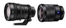 Sony introducerer to nye E-mount Full Frame-objektiver