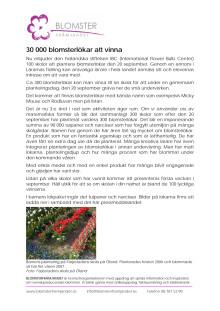 30 000 blomsterlökar