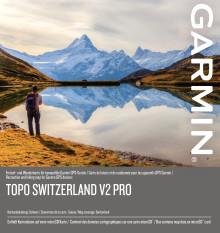 TOPO Suisse V2 PRO : Garmin met à jour la célèbre carte de randonnées pour la Suisse et le Liechtenstein
