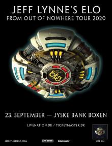 Jeff Lynne's ELO til Jyske Bank Boxen 23. september