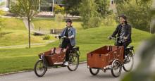 Start för uthyrning av U-bike på Campus Umeå