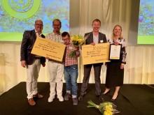 August No Stress Surf Café och Solelgrossisten vinnare under Sparbanken Syds Tillväxtdag